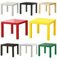 Ikea Lack Side Table End Display 55cm Square Small Coffee ...