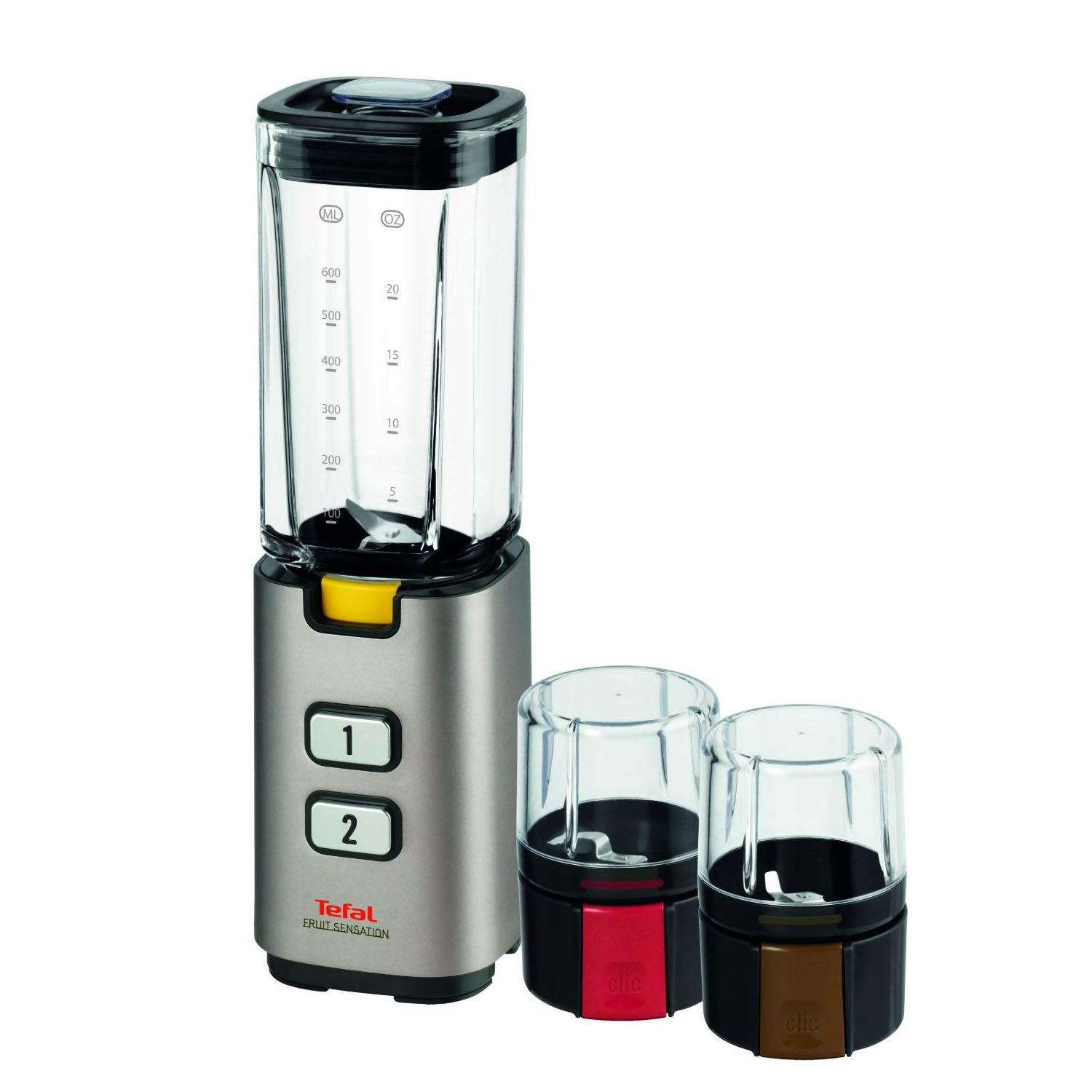 Mini Blender Tefal Bl142a42 Fruit Sensation 2 Speed Blender With Mini