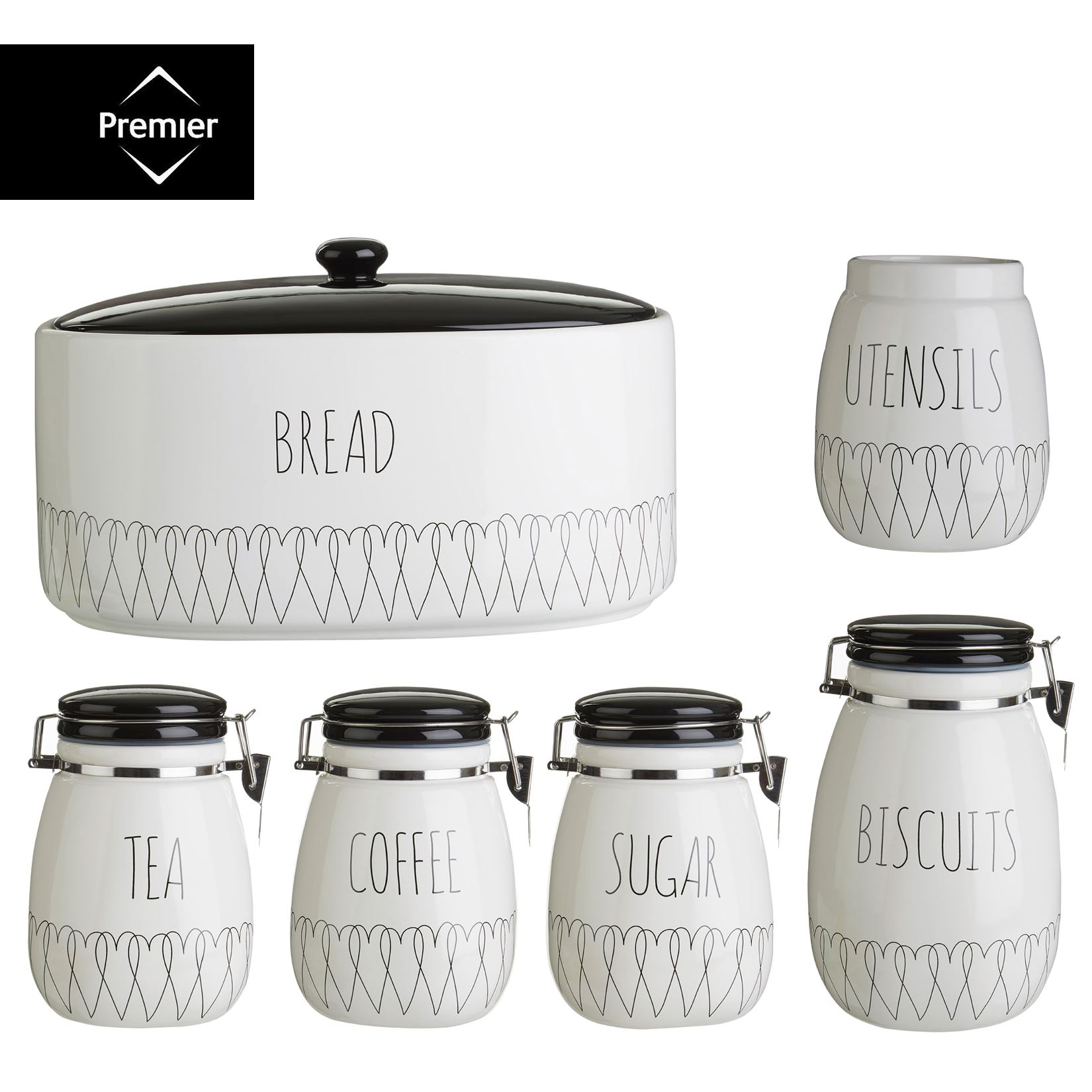 piece small canister set tea coffee sugar kitchen canister storage fast delivery