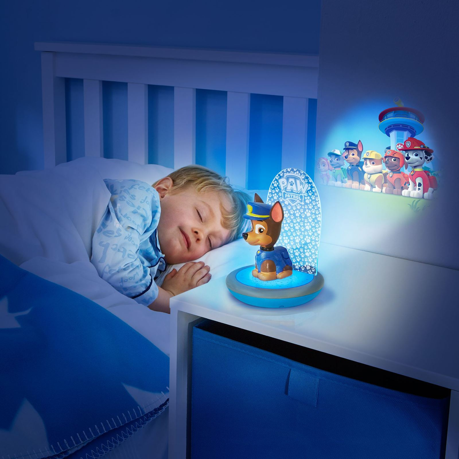 Nightlights For Children Paw Patrol Chase 3 In 1 Magic Go Glow Night Light