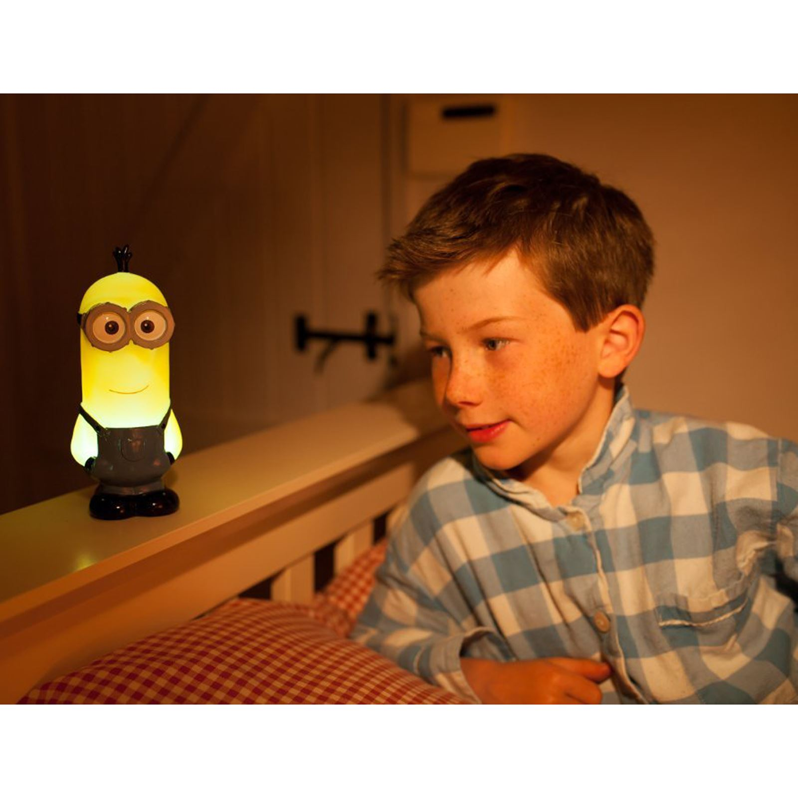 Childrens Bedside Lights Minions Kids Bedroom Lighting Night Light Lamp Bedside