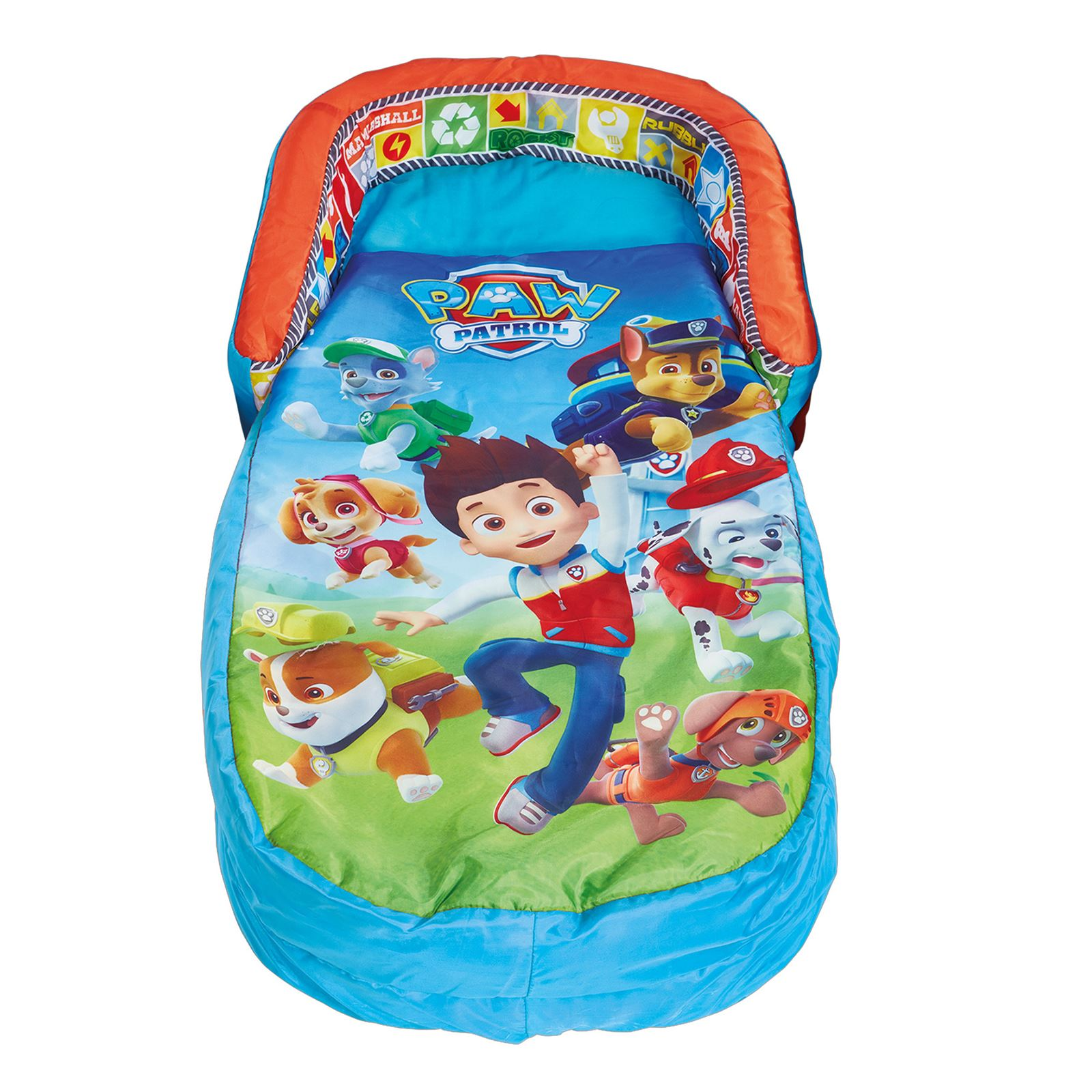 Big W Portable Cot Paw Patrol Kids My First Ready Bed Inflatable Includes