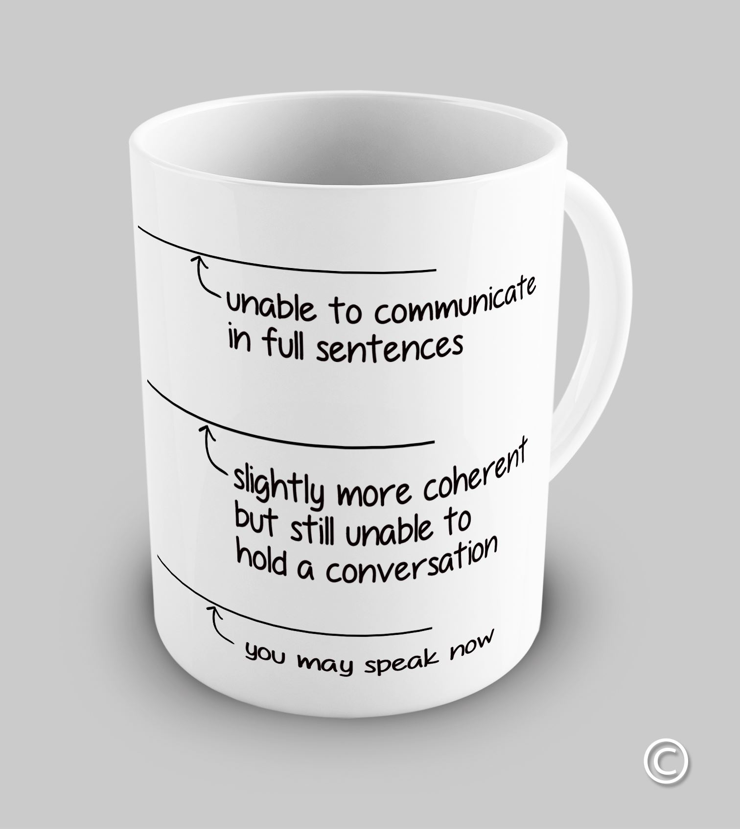 Koffiemok To Go Funny You May Speak Now Coffee Mug Ebay