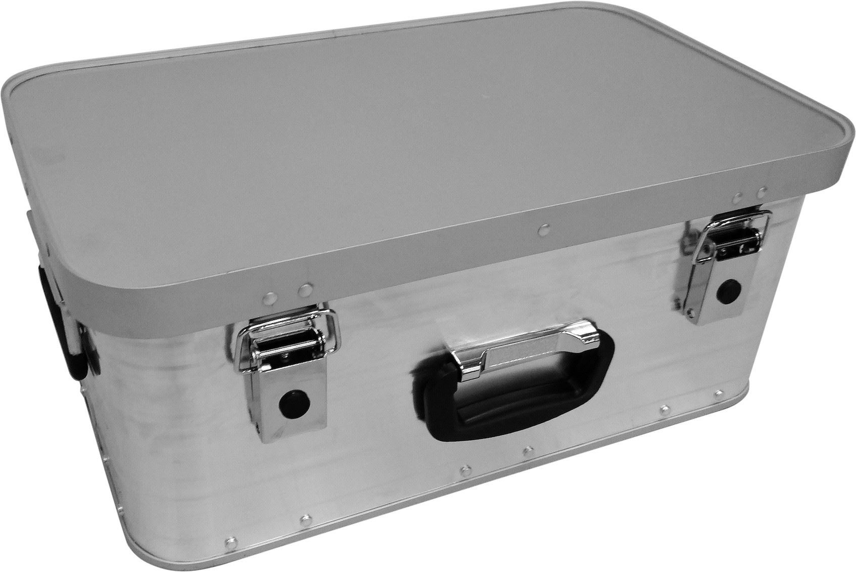 Aluminium Storage Trunk Flight Case Metal Box Lightweight