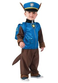 Boys Chase Paw Patrol Cartoon Police Dog Fancy Dress ...