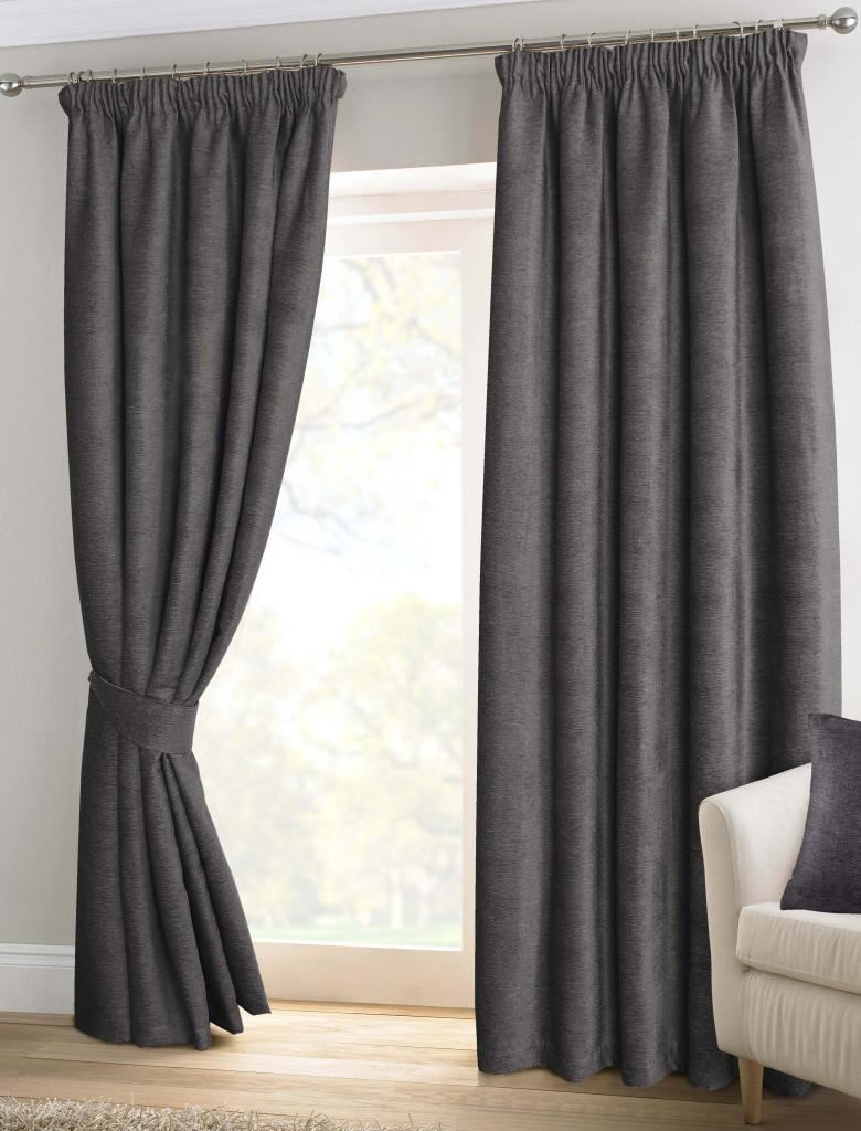 Grey Thermal Curtains Charcoal Grey Blackout Curtains Home The Honoroak