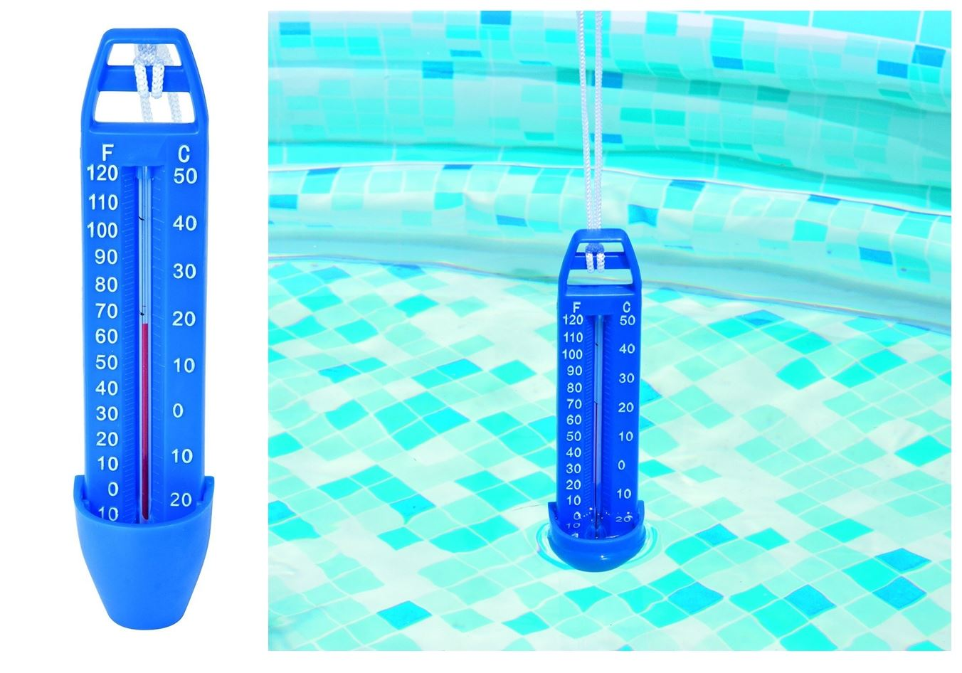 Jacuzzi Pool Temperature Pool Thermometer Swimming Spa Hot Tub Scoop Water Pond