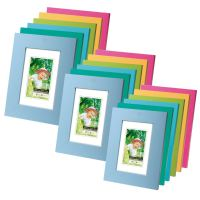 Wooden Picture Holder Photo Family Frame in Blue Turquoise ...