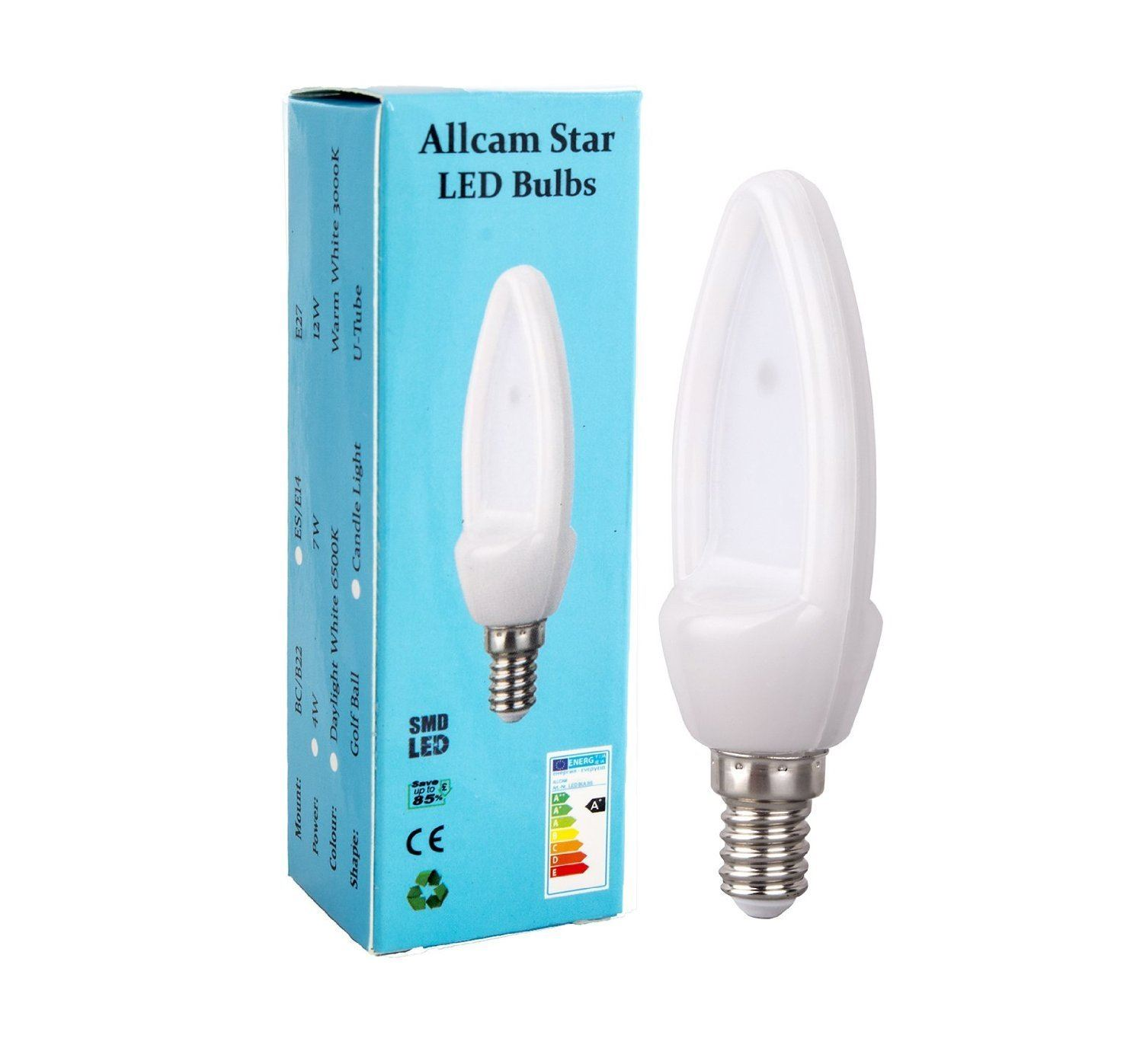 Globe Cool E14 Allcam B22 Led Bulb Bc E27/es E14 4w 7w Globe Or Candle