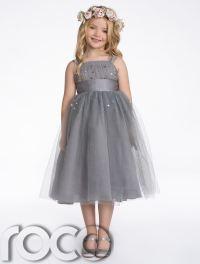 Bridesmaid Dresses, Girls Dresses, Grey Dress, Ivory Dress ...