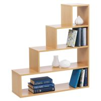 STYLISH UNDERSTAIRS 4 TIER CUBE STEP BOOKCASE SHOE STORAGE ...