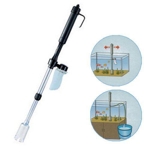 Hidom Aquarium Vac Siphon Fish Tank Vacuum Cleaner Pump | eBay