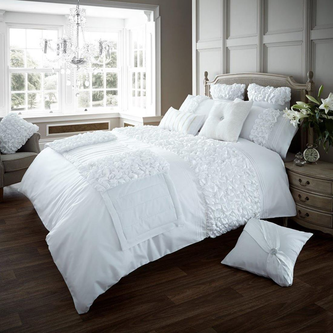 King Bed Duvet Cover Verina Duvet Cover With Pillowcase Quilt Cover Bed Set
