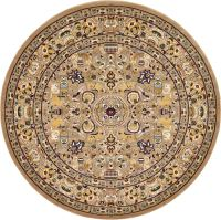 Traditional Large Persian Design Area Rug Small Vintage ...