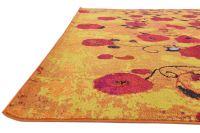 Multi Color Contemporary Carpets Modern Area Rug Round ...