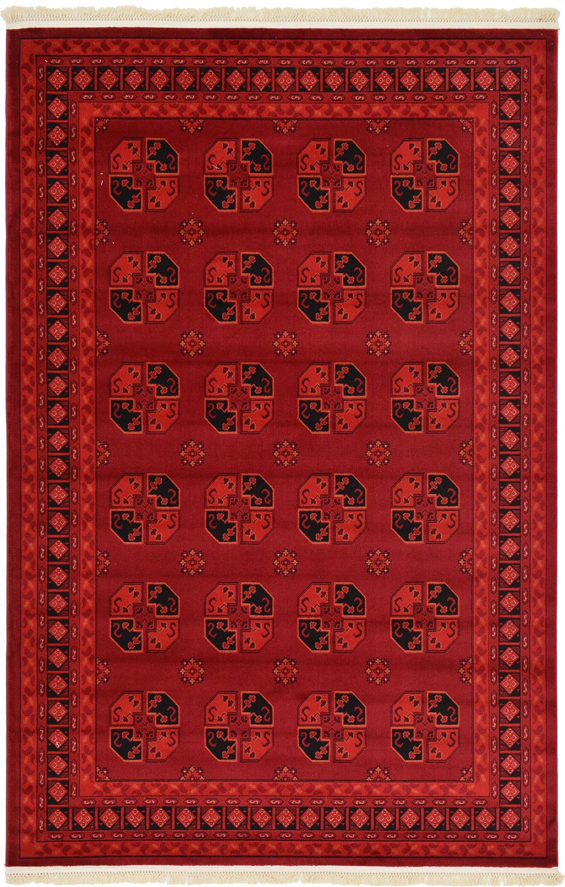 Red Oriental Rug Traditional Red Rug New Area Rug Oriental Persian Classic