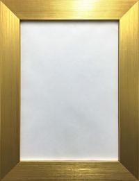 Modern Photo Picture Poster Frame Flat Brushed Finish Wide