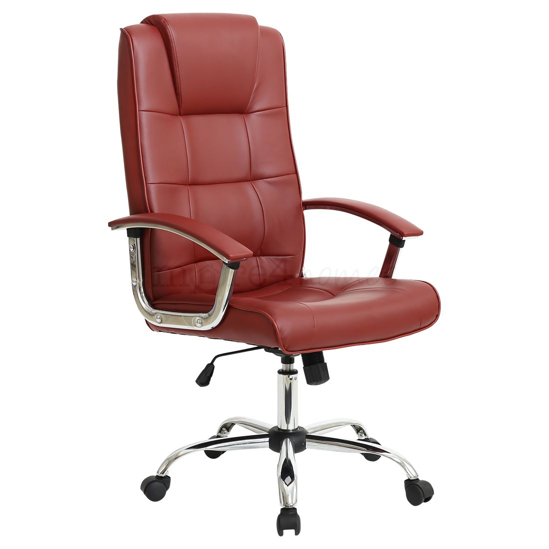 High Back Desk Chair Grande High Back Executive Leather Office Chair Computer