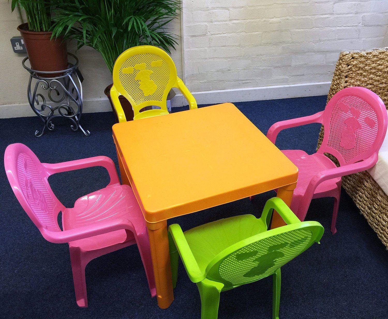 Kids Children Plastic Indoor Outdoor Stackable Garden