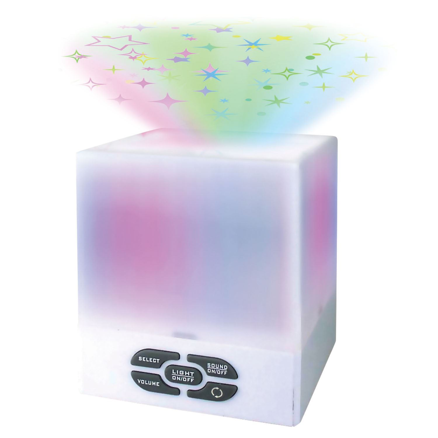 Baby Star Light Projector Starlight Star Projector Cube Night Light Mood Relax