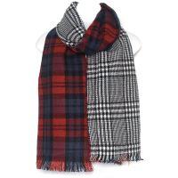 Mens WoUnisex Luxury Reversible Tweed Scarf   eBay