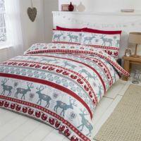 100% Cotton Flannelette Quilt Duvet Cover Bedding Bed Sets ...