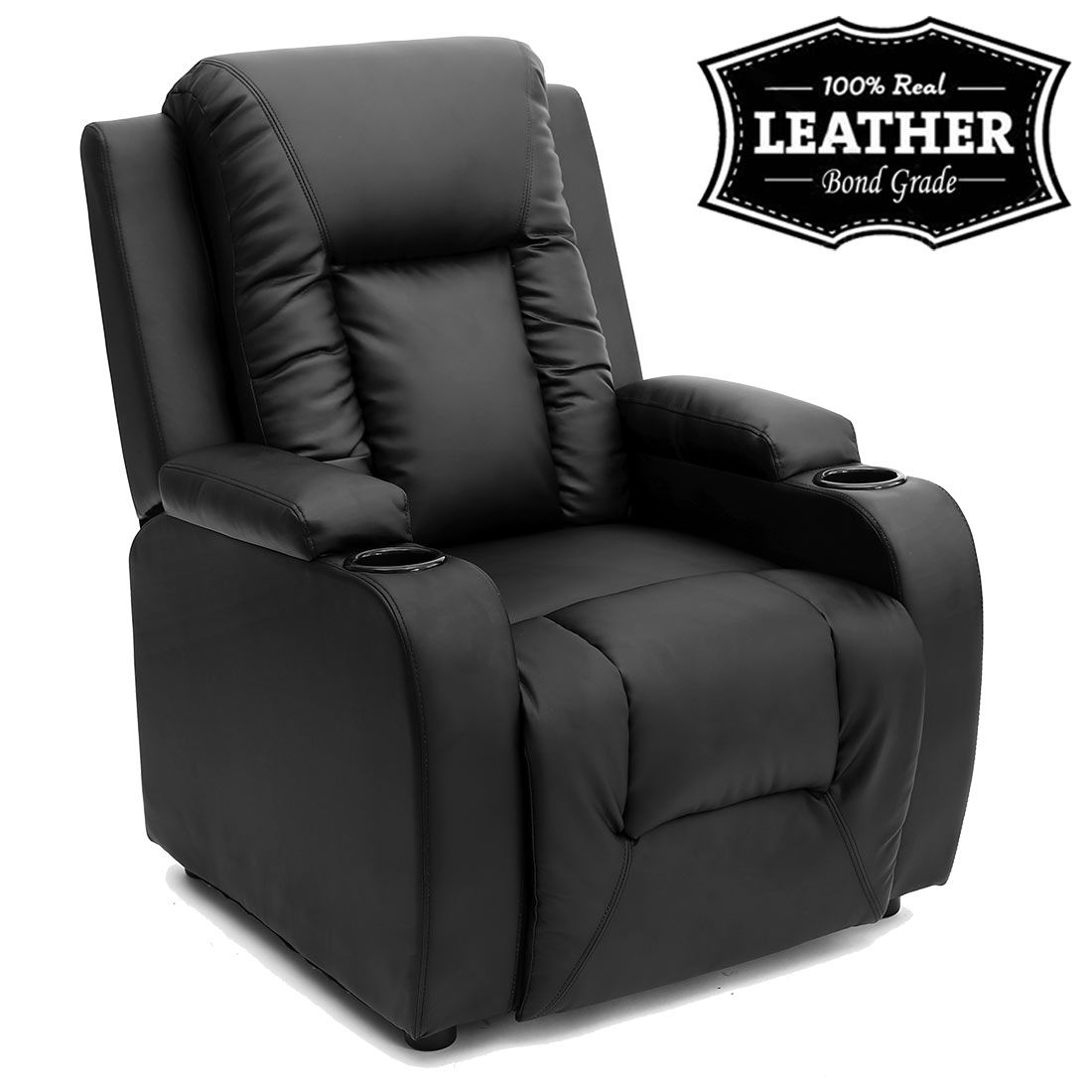 recliner sofa leather
