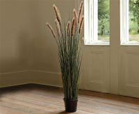 Bloom 4Ft Potted Grass Tall 120Cm Artificial Plant Home ...