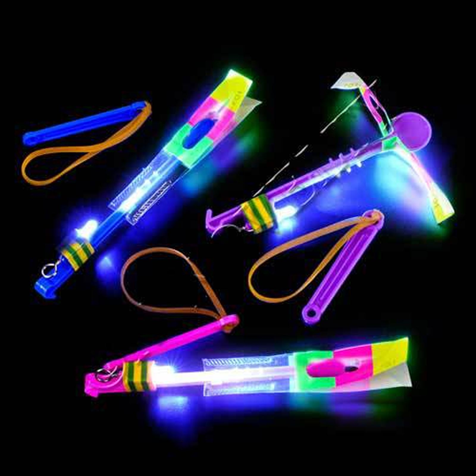 Led Light Fun Led Heli Boys Girls Toy Fun Lights Party Bag Xmas