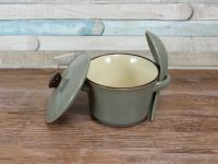 Soup bowl with lid and spoon brown range | eBay
