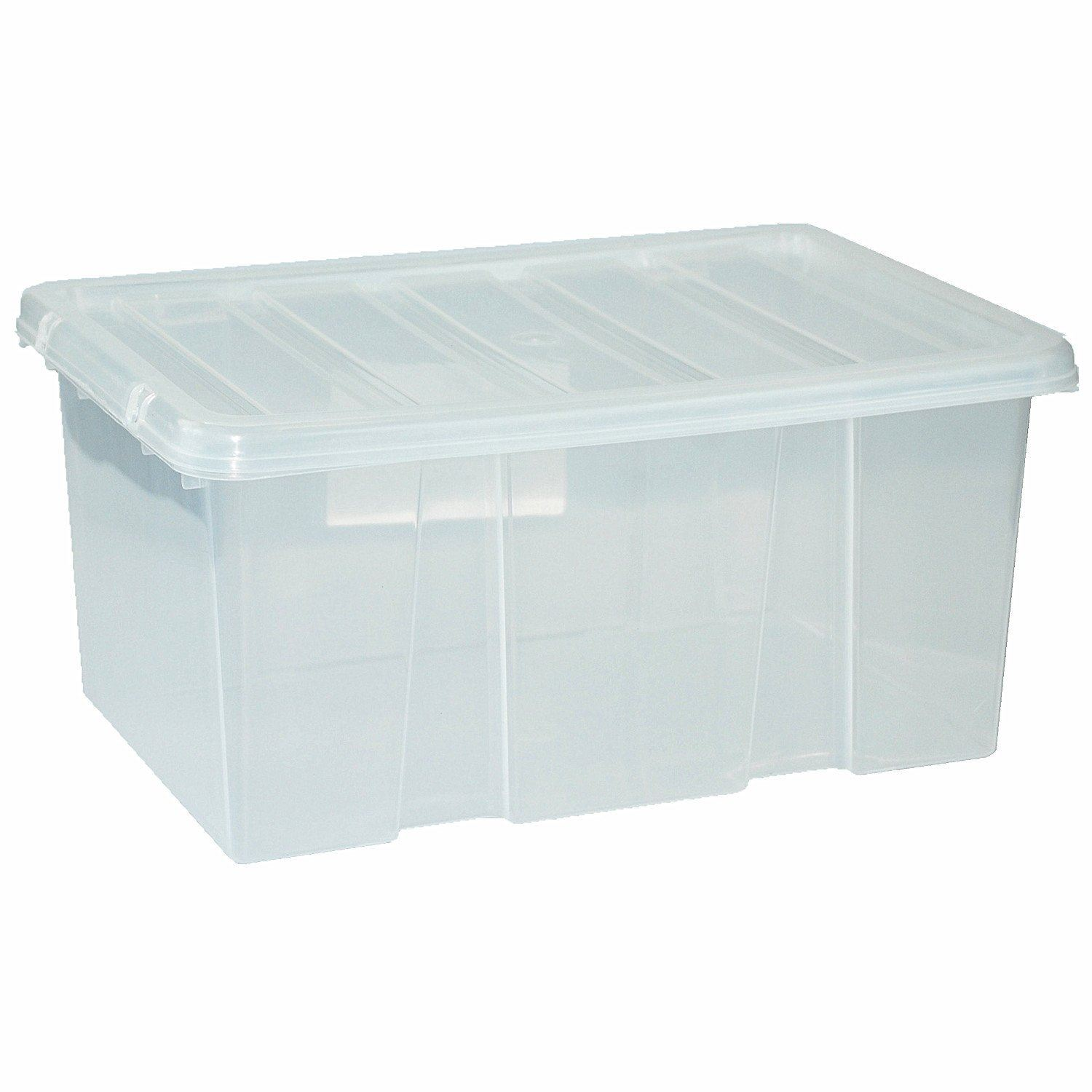 Large Plastic Storage Boxes Large Plastic Storage Clear Box With Clear Lid Container