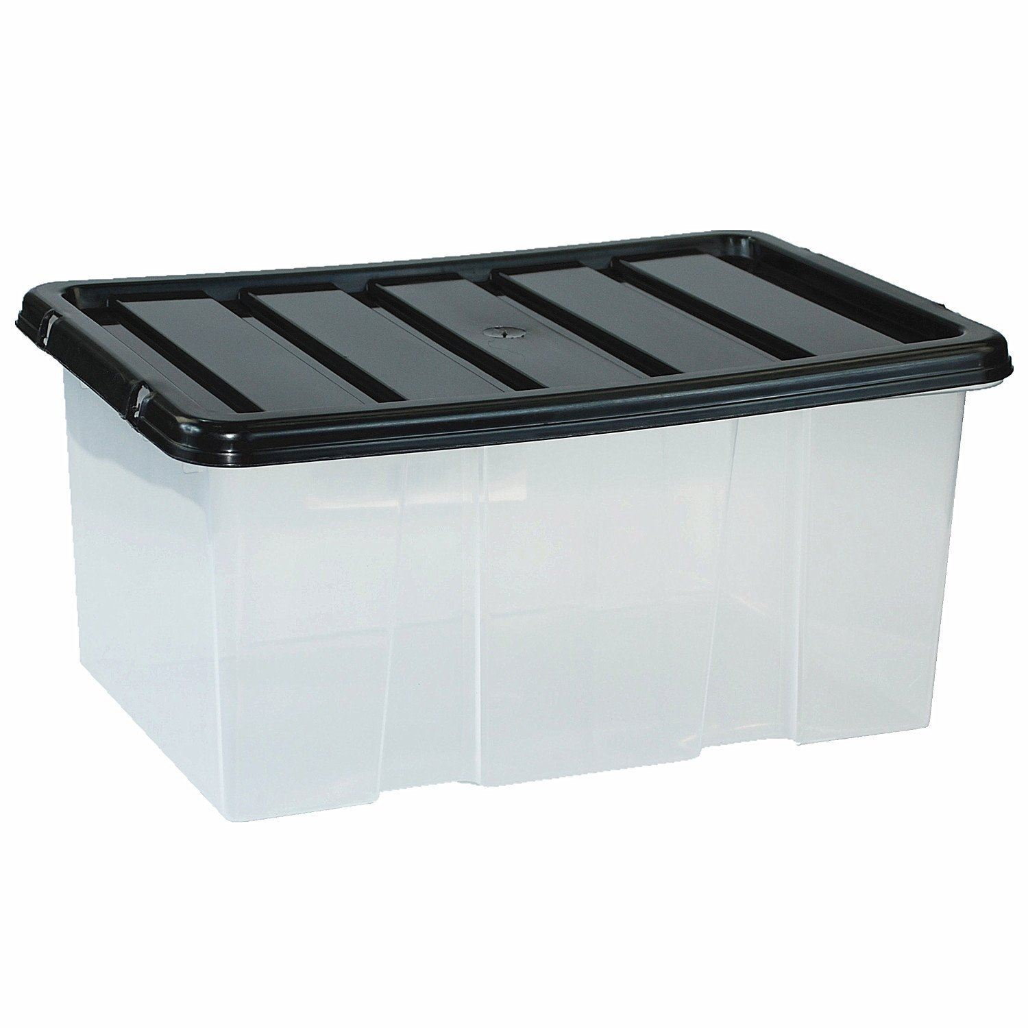 Large Plastic Storage Boxes Large Plastic Storage Clear Box With Lid Container Made In