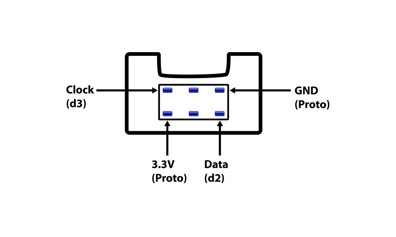wii nunchuk wire diagram
