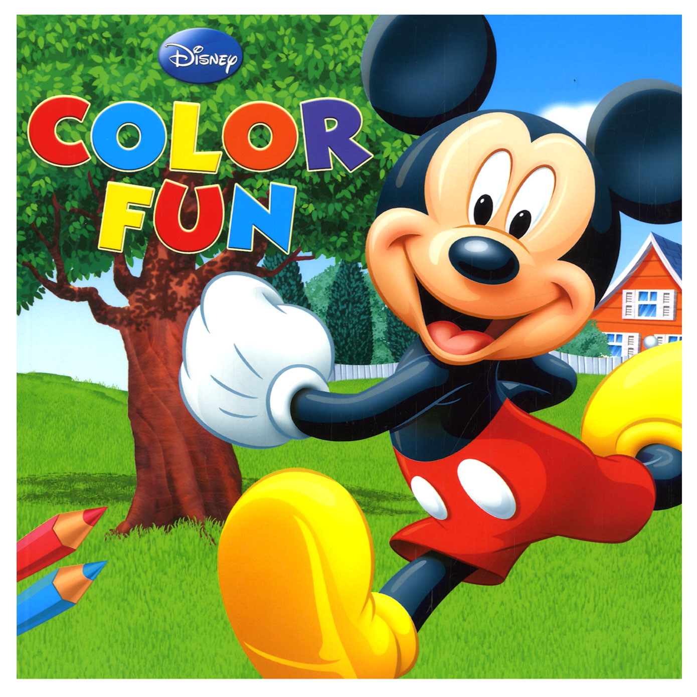 Mickey Mouse Tekenen Mickey Mouse Color Fun Online Kopen Lobbes Nl