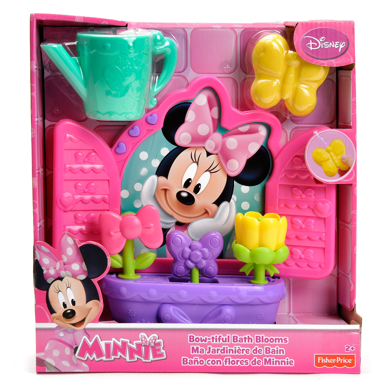 Bad Set For Baby Fisher Price Minnie 39s Bow Rific Badset Roze Online Kopen