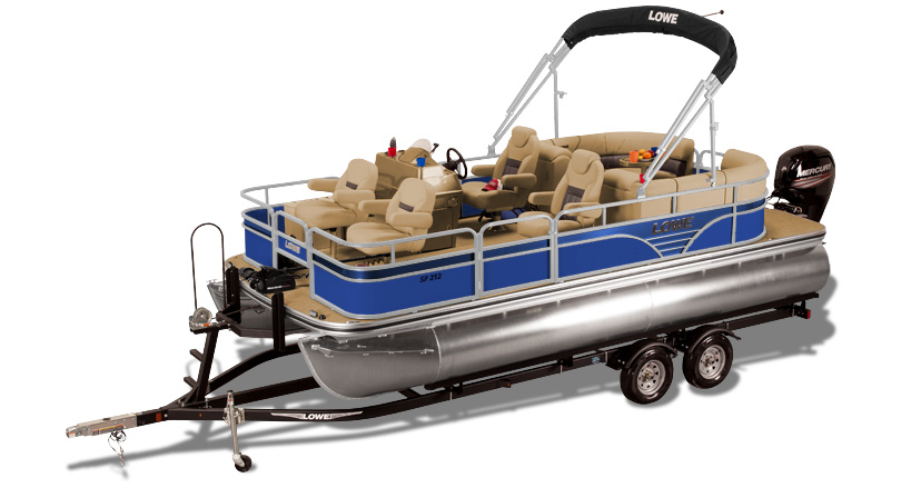 2019 SF212 Walk Thru Fish  Sport Pontoon Boat Lowe Boats
