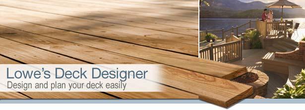 Deck Designer Planner - lowes kitchen design tool