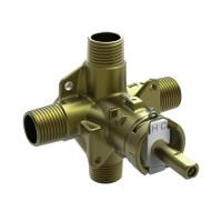 Shop Moen 1/2-in Brass Compression In-Line Shower Valve at ...
