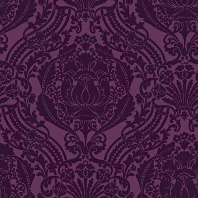 Shop allen + roth Purple Strippable Non-Woven Paper Prepasted Wallpaper at Lowes.com