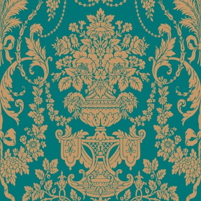 Shop The Wallpaper Studio Blue Strippable Vinyl Prepasted Classic Wallpaper at Lowes.com
