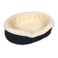 Shop Doskocil Denim Fleece Oval Dog Bed at Lowes.com