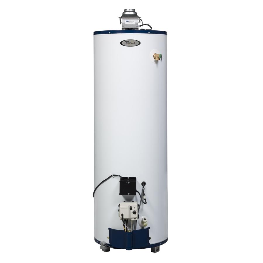 Shop Whirlpool 6th Sense 40 Gallon 6 Year Tall Gas Water