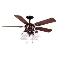 "Shop Harbor Breeze 52"" Bellhaven Bronze Ceiling Fan at ..."