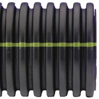 Shop ADS 24-in x 20-ft Corrugated Culvert Pipe at Lowes.com