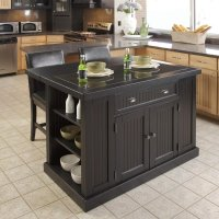Shop Home Styles 48-in L x 37-in W x 36.25-in H Distressed ...