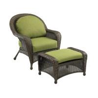 Shop Outdoor Greatroom Company Balsam Wicker Patio Chair ...