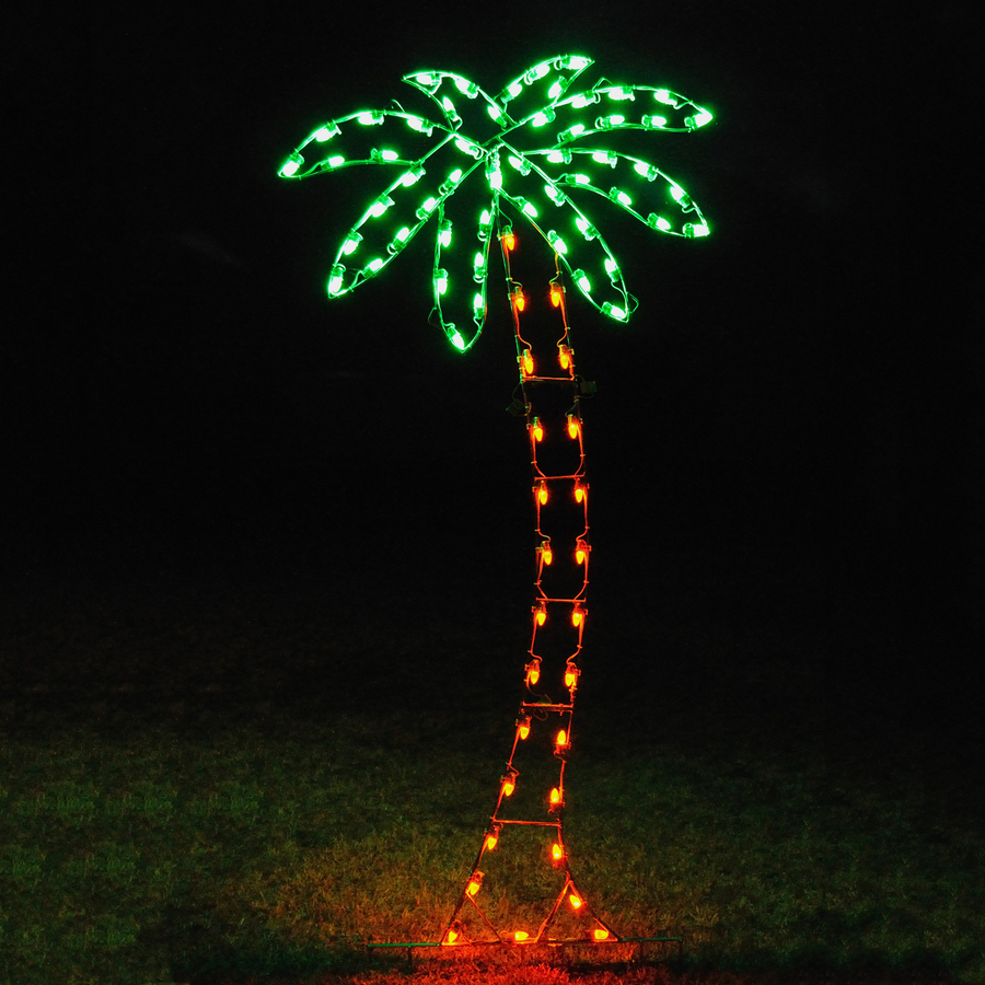 Lighted outdoor palm tree democraciaejustica dongyu outdoor lighted aloadofball Images