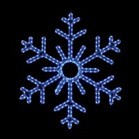 Shop Holiday Lighting Specialists 3-ft Snowflake Outdoor ...