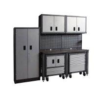 Shop International Tool Storage Metal Garage Cabinet at ...