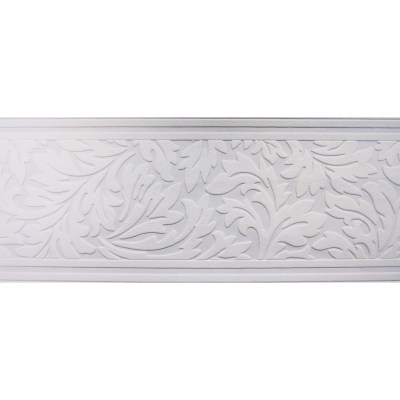 Shop allen + roth 7-in White Unpasted Wallpaper Border at Lowes.com